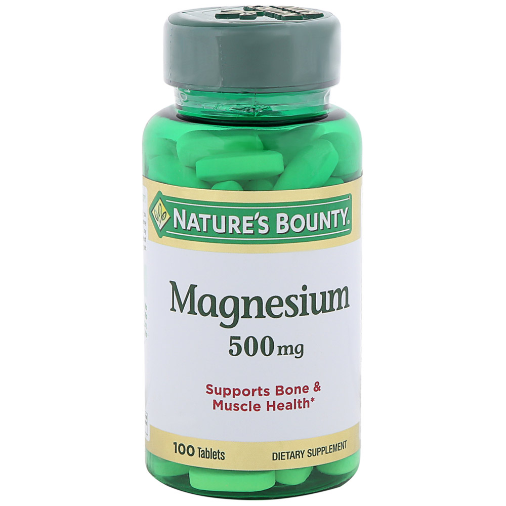 Nature's Bounty Magnesium Магний 500 мг 100 табл.