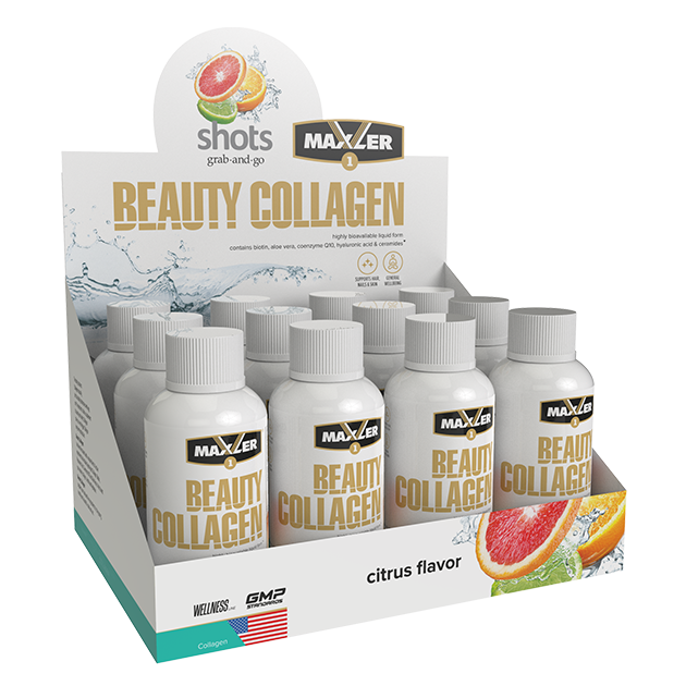 Maxler Beauty Collagen Коллаген Shots 60 мл.